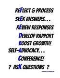 Seek Feedback Posters -- Help Students Develop a Growth Mindset