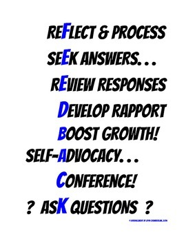 Seek Feedback Posters -- Help Students Develop a Growth Mindset