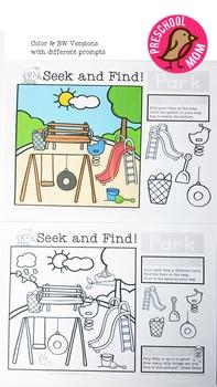 Seek & Find Activity Pack