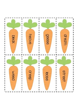 Seek, Find, and Read Carrot Garden (I Can Read Lesson #32)