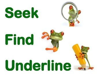 Seek Find and Underline