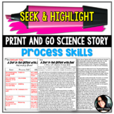 Seek & Highlight: Science Process Skills (Infer, Predict, Observe, Etc.)