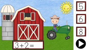 +2 Down On The Farm - PowerPoint Game