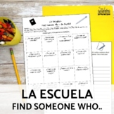 School Supplies and Colors Spanish Speaking Activity