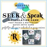 Seek & Speak for R - Quick Articulation Matching Game Spee