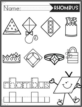 Seek and Color 2d shapes