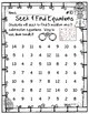 Seek and Find Math Equations - FREEBIE!!!