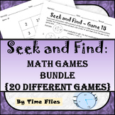 Seek and Find Math Games Bundle {20 Different Games}