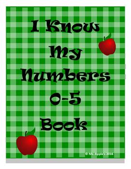 Seek and Find Numbers 0-5