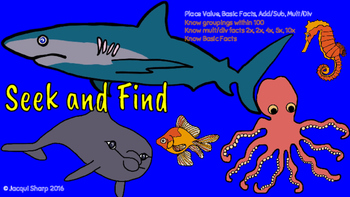 Seek and Find the Sea Animals