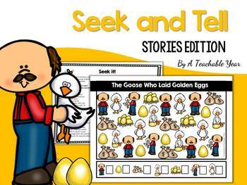 Seek and Tell- Stories Edition