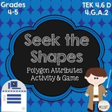 Seek the Shapes Polygon Attribute Game