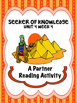 Seeker of Knowledge  Reading Street 4th Grade  Partner Read