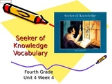 Seeker of Knowledge Vocabulary Powerpoint