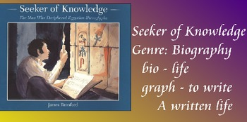 Seeker of Knowledge Vocabulary Presentation