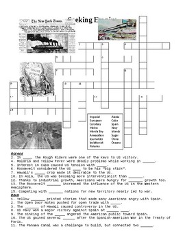 Seeking a US Empire Overseas Crossword Puzzle or Web Quest