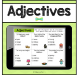 Seesaw Activities - Adjectives - Language & Grammar