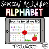 Seesaw Alphabet Practice