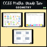 Seesaw Activities - CCSS - Grade Two Geometry  - Math