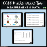 Seesaw Activities - CCSS - Grade Two Measurement & Data - Math