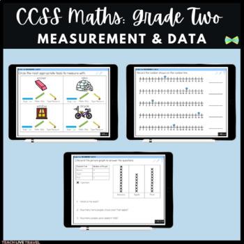 Seesaw Activities - CCSS - Grade Two Measurement & Data - Math