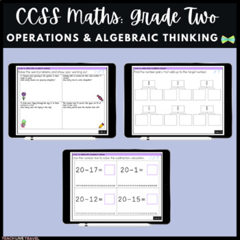 Seesaw Activities - CCSS - Grade Two Operations & Algebraic Thinking  - Math