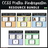 Seesaw Activities CCSS - Kindergarten Math