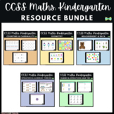 Seesaw Activities CCSS - Kindergarten Math