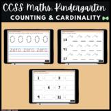 Seesaw Activities - CCSS - Kindergarten Counting & Cardina