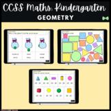 Seesaw Activities - CCSS - Kindergarten Geometry - Math