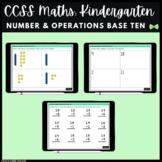 Seesaw Activities - CCSS - Kindergarten Number & Operations in Base Ten - Math