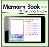 Seesaw Activities - End of Year Memory Book