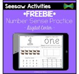Seesaw Activities - *FREEBIE* - Number Sense 1-10