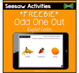 Seesaw Activities - *FREEBIE* - Odd One Out - Verbal Reasoning
