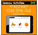 Seesaw Activities - *FREEBIE* - Odd One Out - Verbal Reasoning