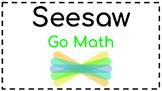 Seesaw Activities: Math