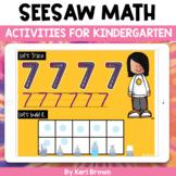 Seesaw Activities   Math Endless Bundle