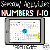 Seesaw Numbers 1-10