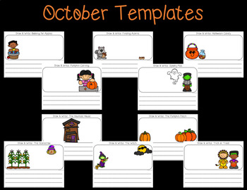 Seesaw Activities: October Draw and Write