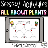 Seesaw Activities: Plants