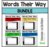 Seesaw Activities Words Their Way Bundle