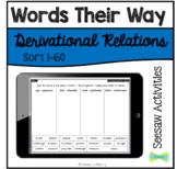 Seesaw Activities - Words Their Way - Derivational Relatio