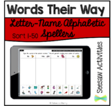 Seesaw Activities Words Their Way Letter-Name Alphabetic