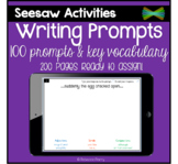 Seesaw Activities - Writing Prompts - Language Center - Mo