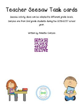 Seesaw Activity Cards