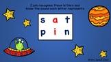 Seesaw Activity: Phonemic Awareness Daily Task 2 (incorporating satpin sounds)