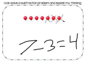 Seesaw Activity: Subtraction