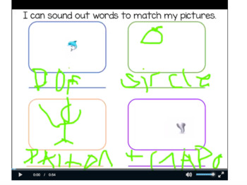 Seesaw Activity: Writing