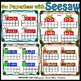 Seesaw Addition 0-10 Using a Ten Frame PNG Templates English Christmas Version