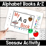 Seesaw Alphabet Books Distance Learning